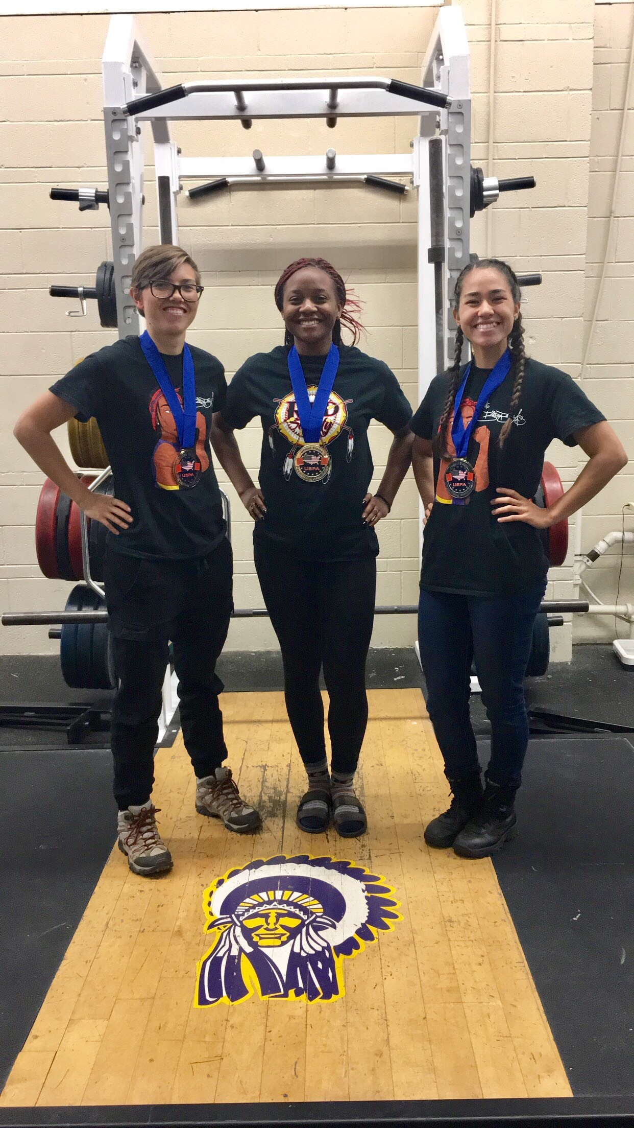 Haskell Women Bring Home Gold from Powerlifting Meet