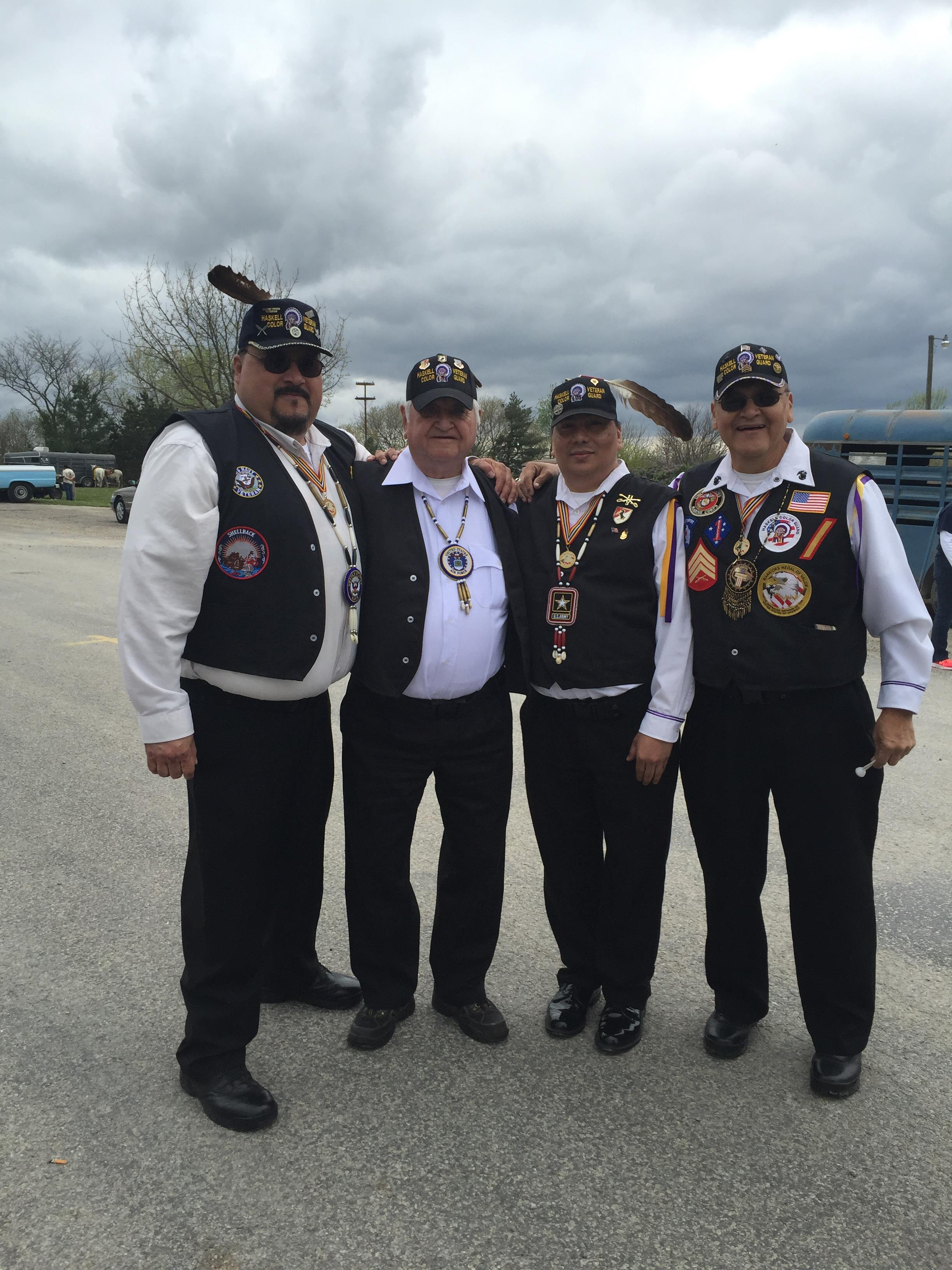 Haskell's Color Guard: a Treasured Gem in Indian Country