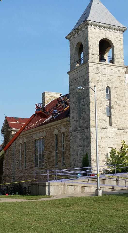 Roof On Hiawatha Hall Finally Being Repaired The Indian Leader