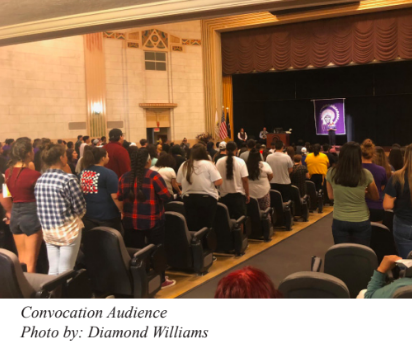 Fall 2018 Convocation Audience