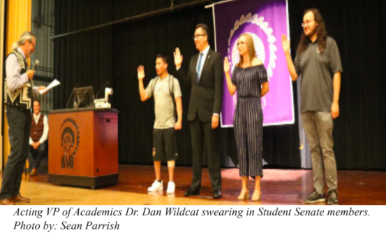 2018 Sudent Senate Officers Swearing In