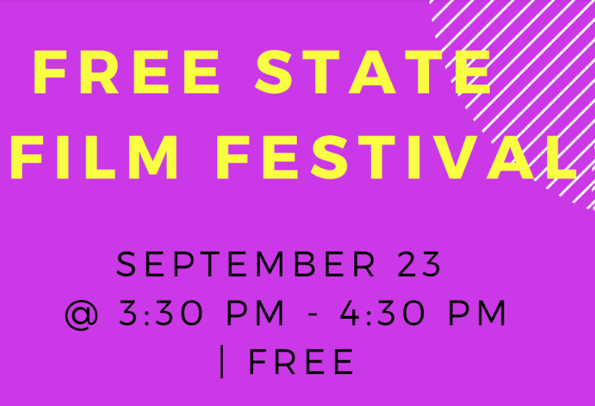 Free state film festival flyer